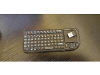 Mini Bluetooth keyboard and trackpad £10.00