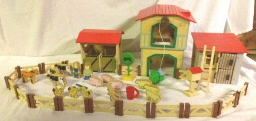 Chad Valley Wooden Farm Set In Worthing West Sussex Gumtree