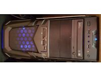 Gaming Desktop PC, 12GB Ram, 225GB SSD, 1TB HD, 2GB AMD Graphics Card, DVD/RW, USB 3, Windows 7