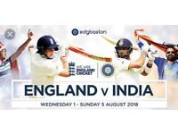 England vs India 1st Test match (1st Day)