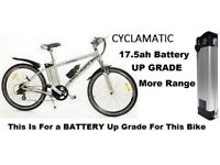 Cyclamatic BIKE BATTERIES Battery Service CUT PRICE Power plus Foldaway