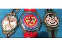 3 x Very Collectable Swatch Watches