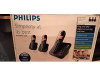philips cd155 trio phone set