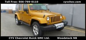 2014 Jeep WRANGLER UNLIMITED Sahara 4 Door with Leather