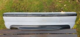BMW E46 M Sport Rear Bumper (genuine part)