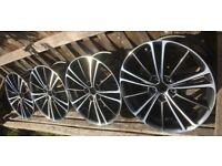 Toyota GT86 Subaru BRZ Genuine Alloy Wheels New Take Off 17 x 7J x 4