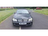 Mercedes-Benz, CLK, Convertible, 2005, Semi-Auto, 1796 (cc), 2 doors