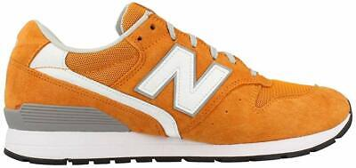 NEW BALANCE MEN'S MRL996KE SNEAKERS CLASSIC LOW-TOP SUEDE RUNNING SHOES ORANGE