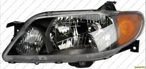 Head Light Driver Side Metal Coat Bezel Mazda Protege 2001-2003