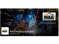M&S welding specialist Welding Fabricator welder