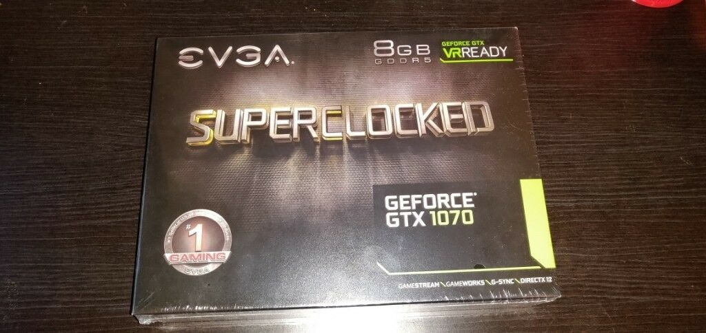 EVGA nVidia GTX 1070 SC 8GB – £300 brand new, £260 used  Both with 2yr  warranty! | in Cambridge, Cambridgeshire | Gumtree