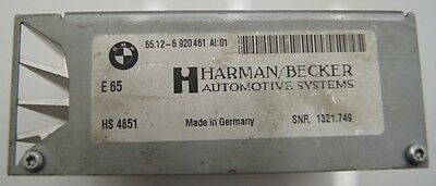 BMW 5 6 7 Series E60/E61/E63/E64/E65/E66/E67 Harman/Becker Amplifier 6920461