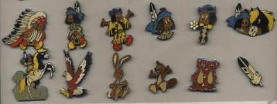 Pin's Yakari Ensemble de 12 pin's