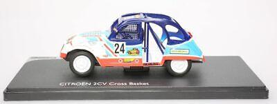 "Citroën 2Cv Cross ""Basket"" n°24 1/43"