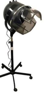 Rolling Salon Hair Dryer 800W Floor Bonnet Stand Up Time Heat Settings - BRAND NEW - FREE SHIPPING