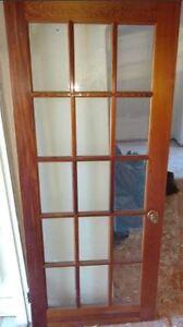 BEAUTIFUL WOOD INTERIOR DOOR