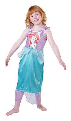 Arielle Big Print Classic Prinzessin Kleid Kinder Kostüm Disney