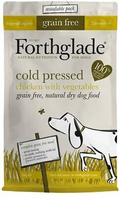 Forthglade Natural Grain Free Cold Pressed Dry Dog Food Grain Free Chicken