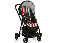 Hauck London pram, Steraliser and Baby clothes (boy)