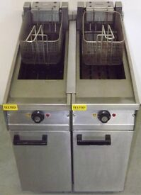 Falcon 2 Pan 2 Basket Electric Fryer Hire/Buy over 4 Months using Easy Payments