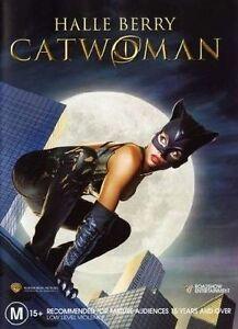 Catwoman (DVD, 2005) Halle Berry Region 4 Australia Brand New Sealed Free Post