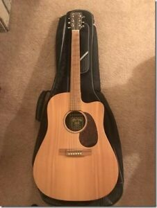 Martin DCX1RE - Acoustic guitar with dreadnought cutaway