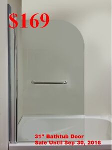 Bathroom Vanities from $129/Shower Doors from $169/Bathtubs $199