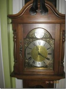 handsome grandfather clock for sale