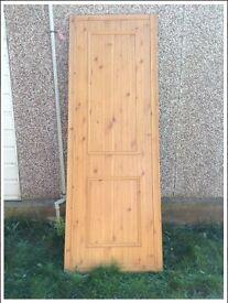 Pine effect sliding wardrobe/ door
