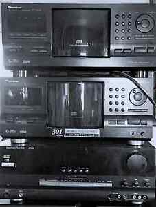 AMP and 2---300 Disk players