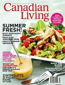 CANADIAN LIVING MAGAZINES 1980-Present Collection