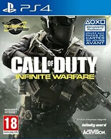 Call of Duty : Infinite Warfare for Playstation 4 - Good condition    PS4   