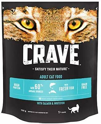 BEST Cat Dry With Salmon And Fresh Whitefish 750 G Pack Of 3 At CRAVE W UK STOC