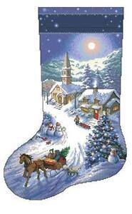 counted cross stitch christmas stocking patterns