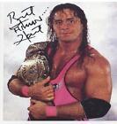 Bret Hart Autograph