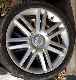 """Audi alloys 18"""" S3 x4"""