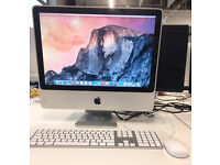iMac 20-inch Yosemite, 2GB RAM, 320GB HDD