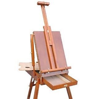 Folding Wooden Art Canvas Paint Holder Easel Box Drawer Stand Set Princes Hill Melbourne City Preview