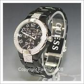 Ladies Black Guess Watch