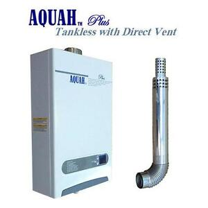 natural gas tankless water heater direct vent