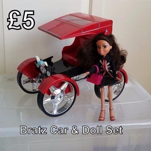 Bratz Car & Doll - £5 for set
