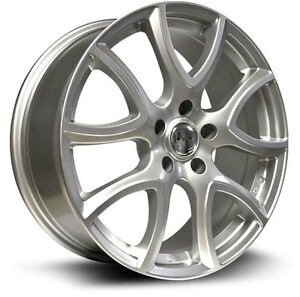 Roues (Mags) 4 saisons RTX OE Arch argent 17 po 5-114.3 Mazda