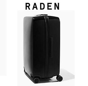 "NEW RADEN CHECK-IN LUGGAGE 28"" A28 SPINNER - LUGGAGE - SUITCASE - GLOSS BLACK 105955985"