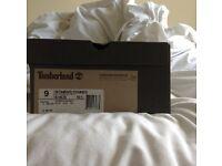 Black/White Timberland Boots ONO