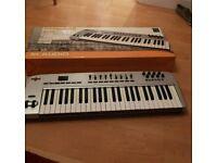 Oxygen 49 midi usb keyboard