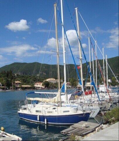 SNAPDGRAGON 27 YACHT WITH INBOARD ENGINE - IN CORFU, GREECE Sailing Boat Mediterranean Cruiser for sale  Handsworth Wood, Birmingham