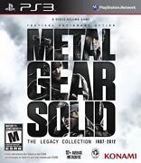 Metal Gear Solid PS3