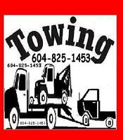 TOW TRUCK(JohnTow.com)604-825-1453 TOWING*VANCVER*SURREY*LANGLEY