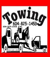 TOW TRUCK*6O4-825-I453 TOWING*VANCOUVER*SURREY*LANGLEY*BURNABY