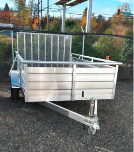 Looking For 6 x 10 Aluminum Utility Trailer in Northern BC